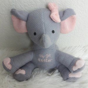 DanDee Pink My First Easter Elephant Plush Baby
